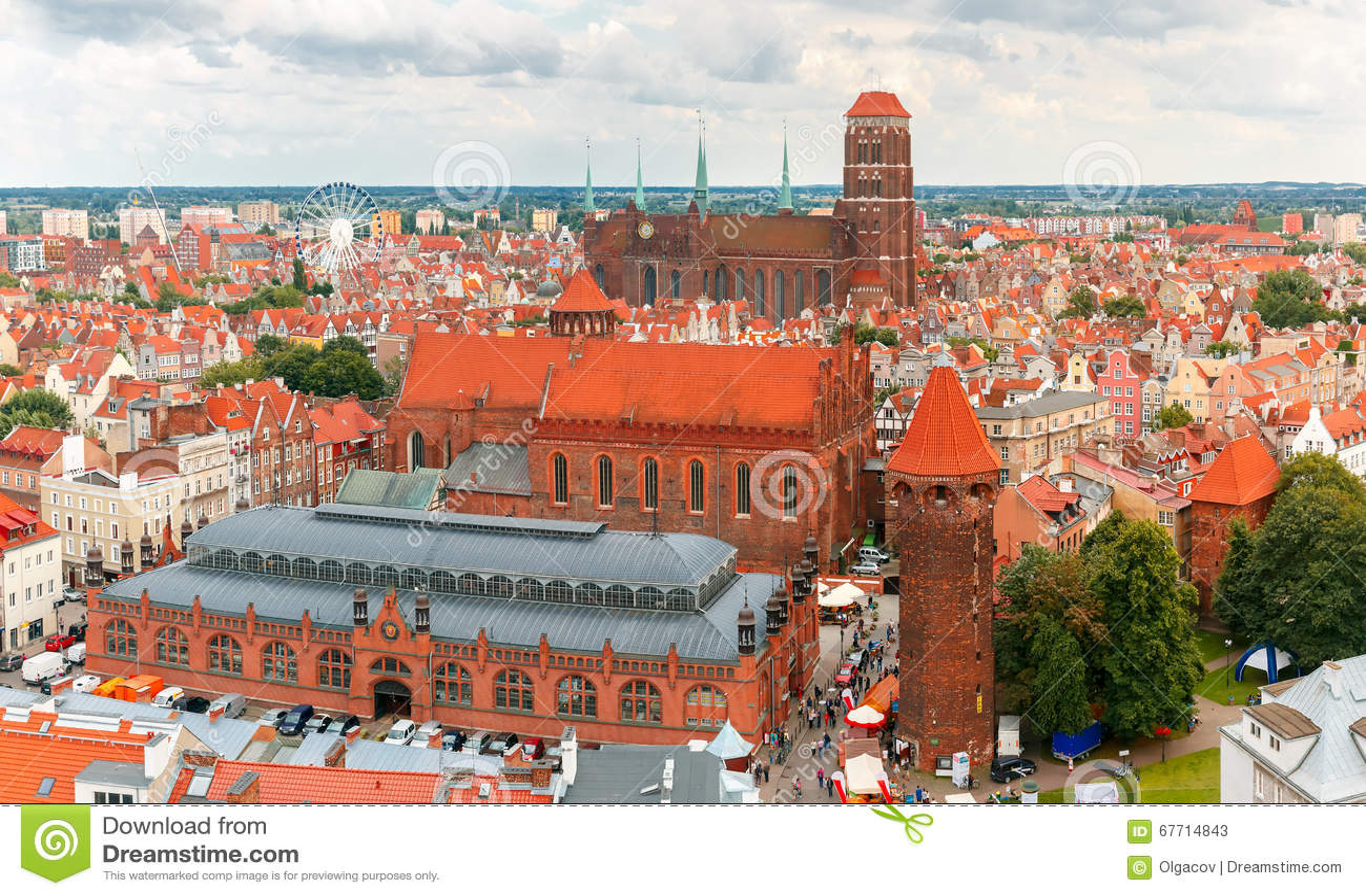 St Mary Church in Gdansk, Poland