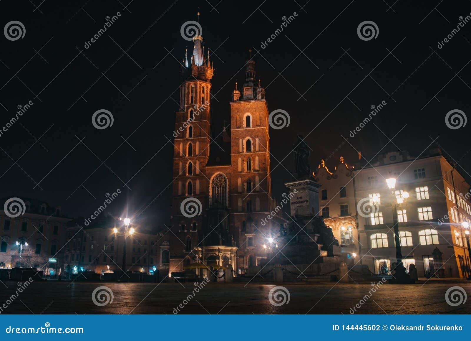 St. Mary`s Basilica, Kraków
