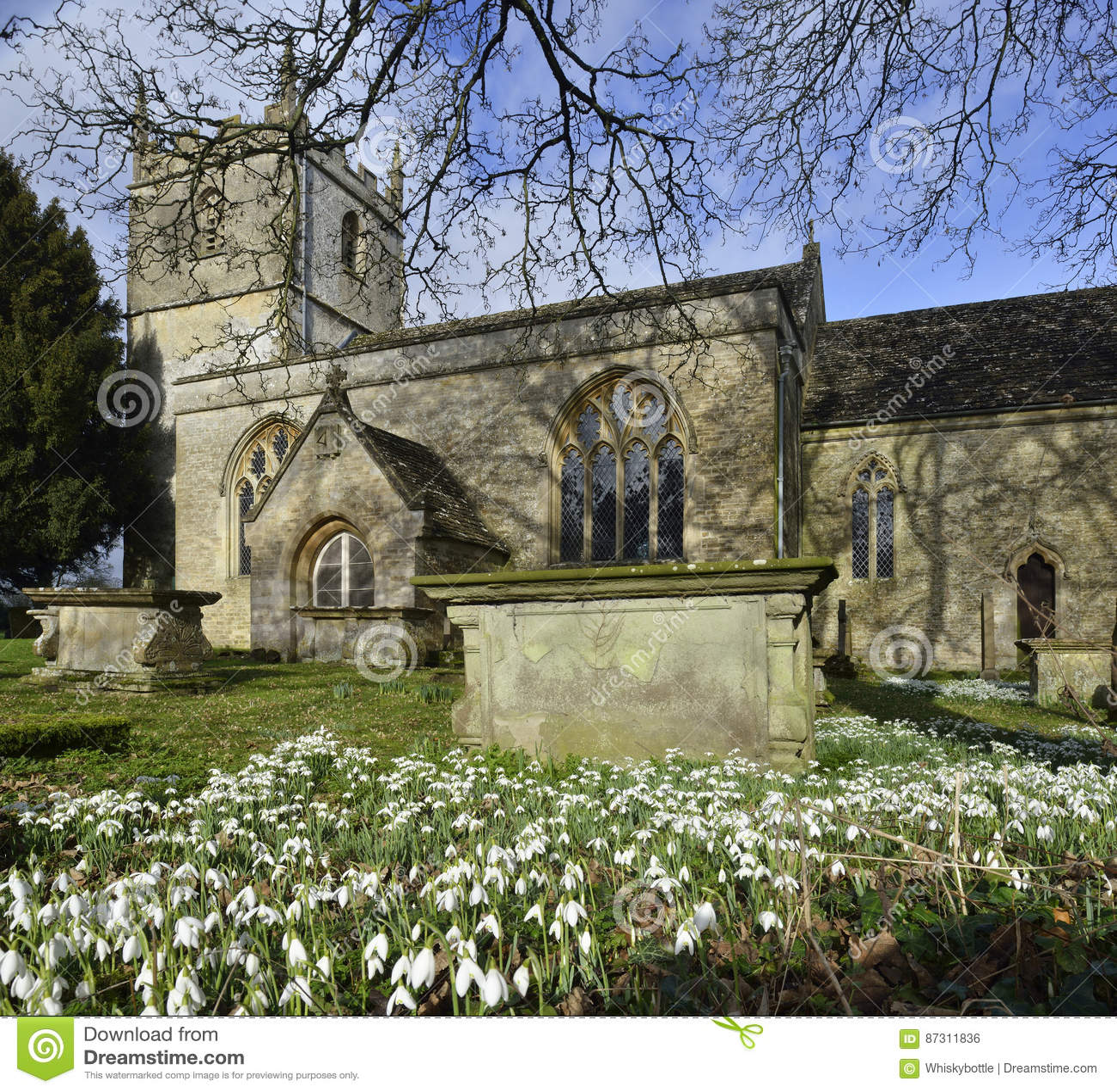St Marys Norman Church, Beverston