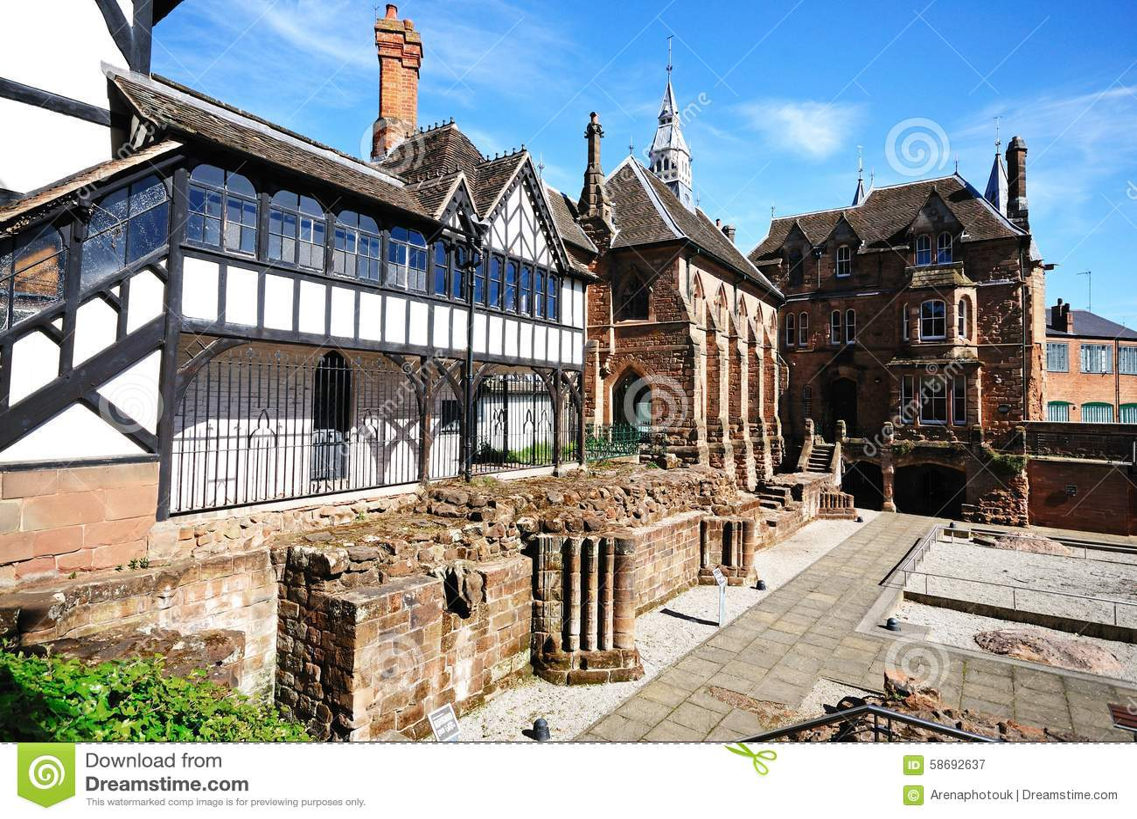 St Marys Priory Garden, Coventry.