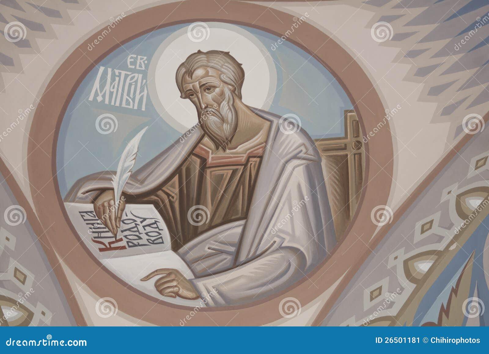 St. Matthew o evangelista