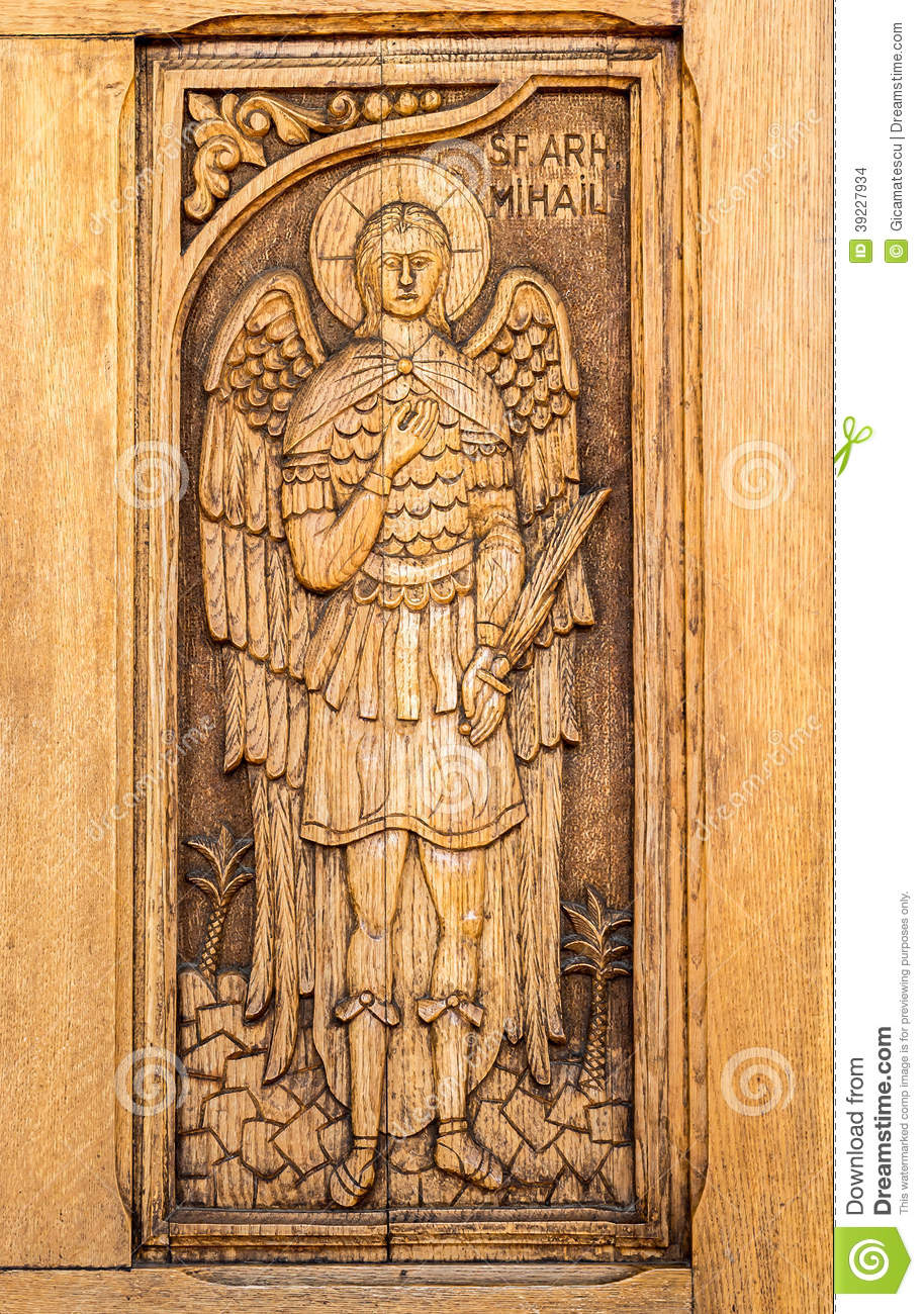 St Michael The Archangel Stock Photo Image Of