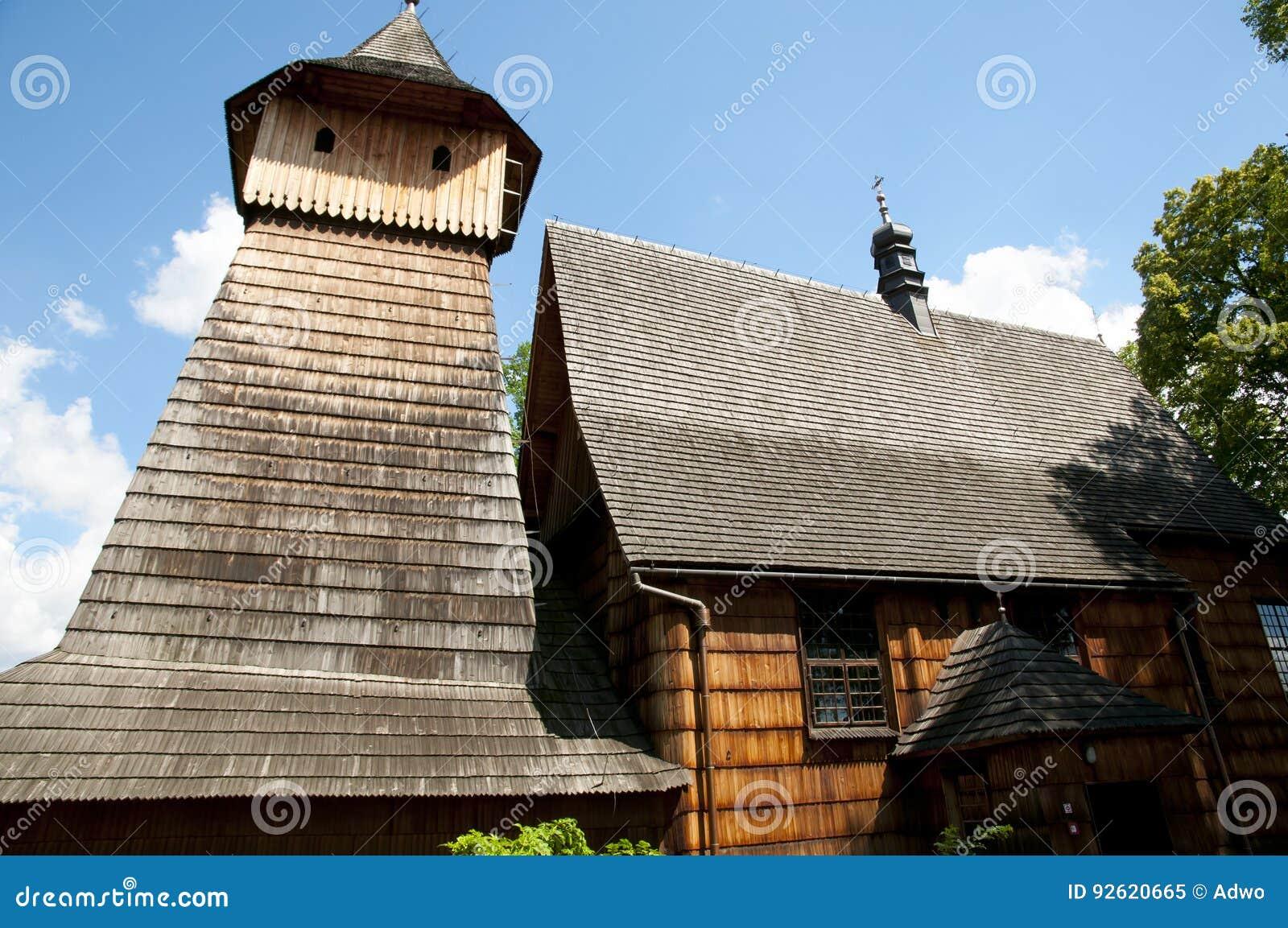 St Michael Archangel Wooden Church - Binarowa - Polonia