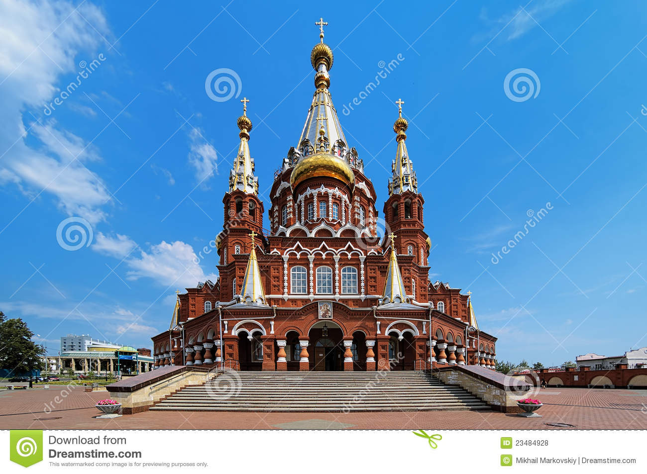 Izhevsk Russia  city pictures gallery : St. Michael Cathedral In Izhevsk, Russia Royalty Free Stock Photos ...