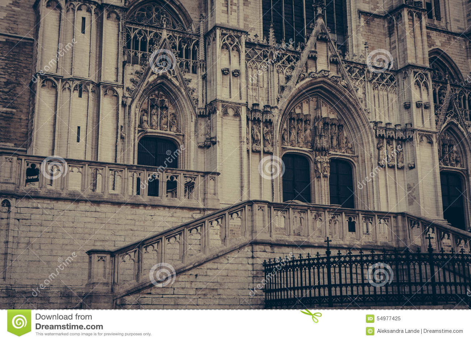 St Michael en Gudula Cathedral brussel