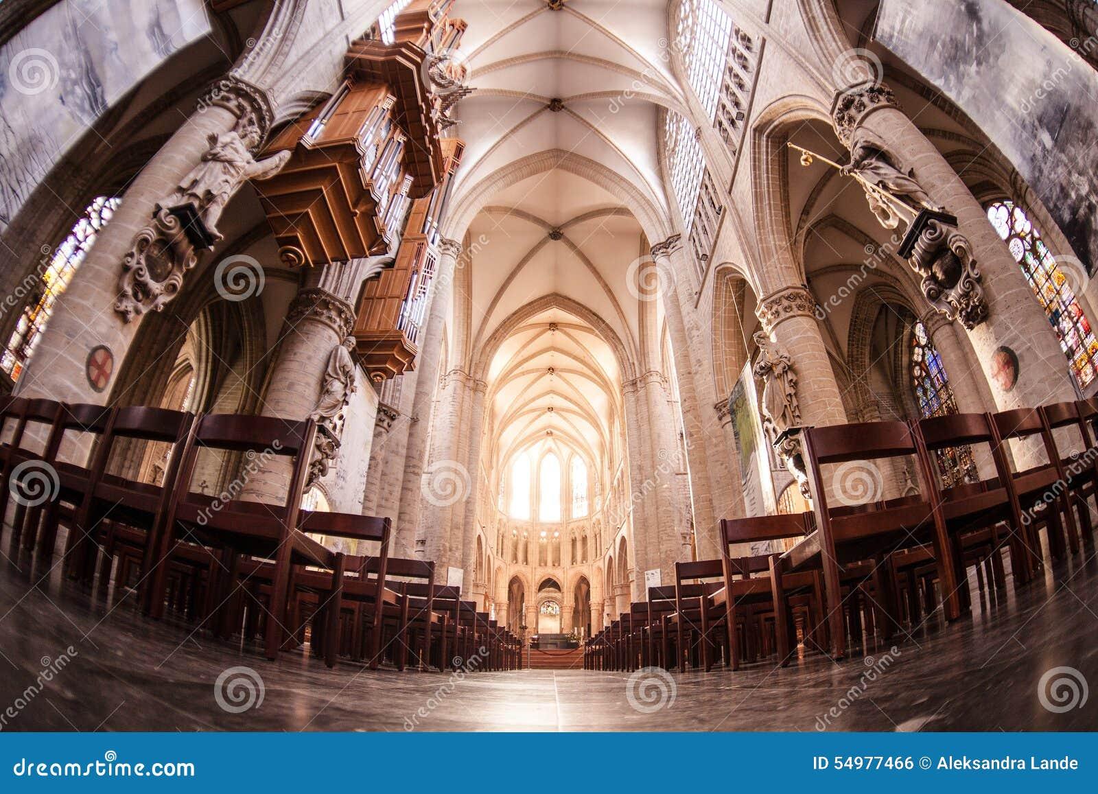 St michael gudula собора Бельгии brussels _
