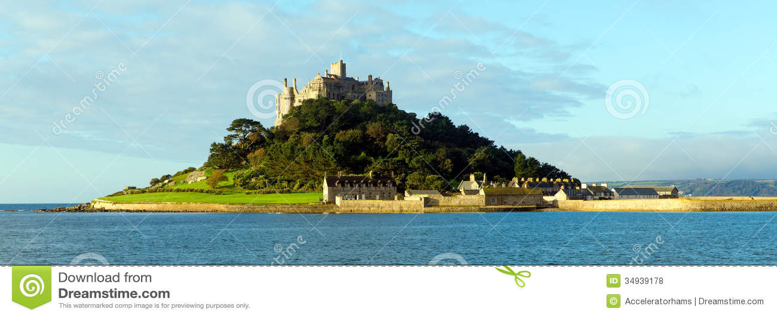 St Michaels Mount Marazion Cornwall England