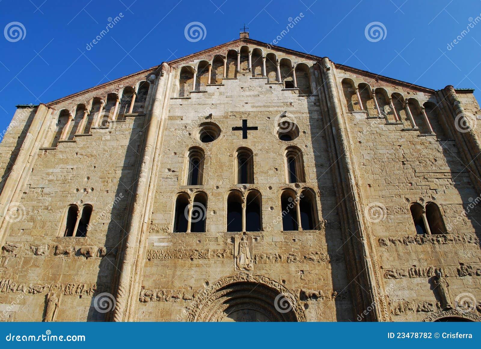 St Michele Basilica Church Pavia Stock Photography