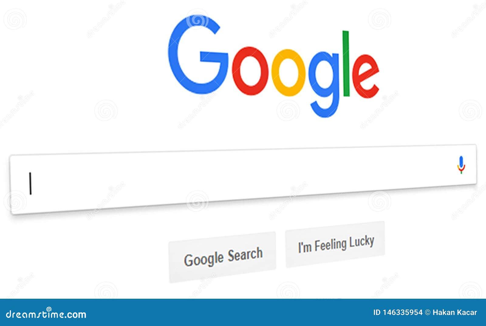 St?ng sig upp av Google s?kandehomepage, och mark?ren p? sk?rmen Google ?r v?rldar