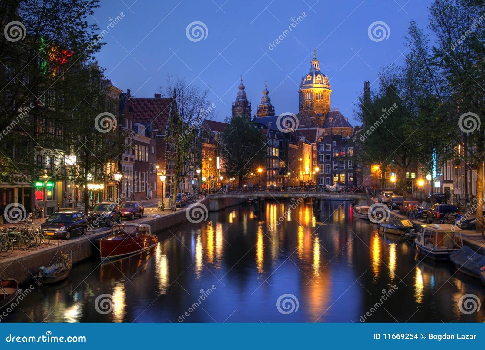 St. Nicholas Church in Amsterdam, The Netherlands