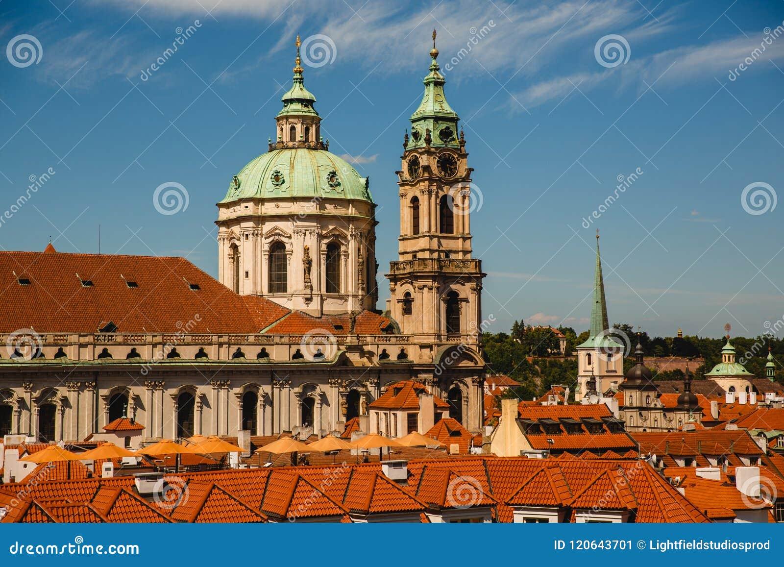St. Nicholas Church in Prag, Tschechische Republik