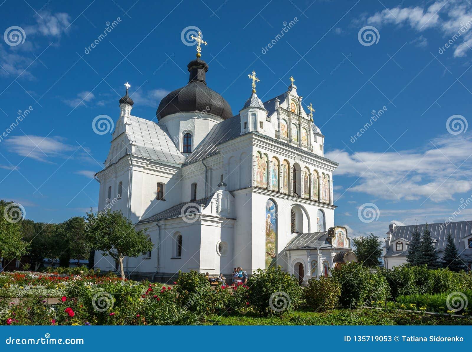 St. Nicholas Convent in Mogilev. Belarus