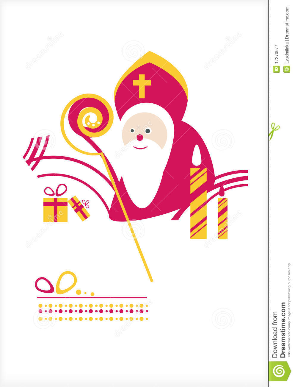 St. Nicholas Day. Man Royalty Free Stock Photography - Image: 17270677