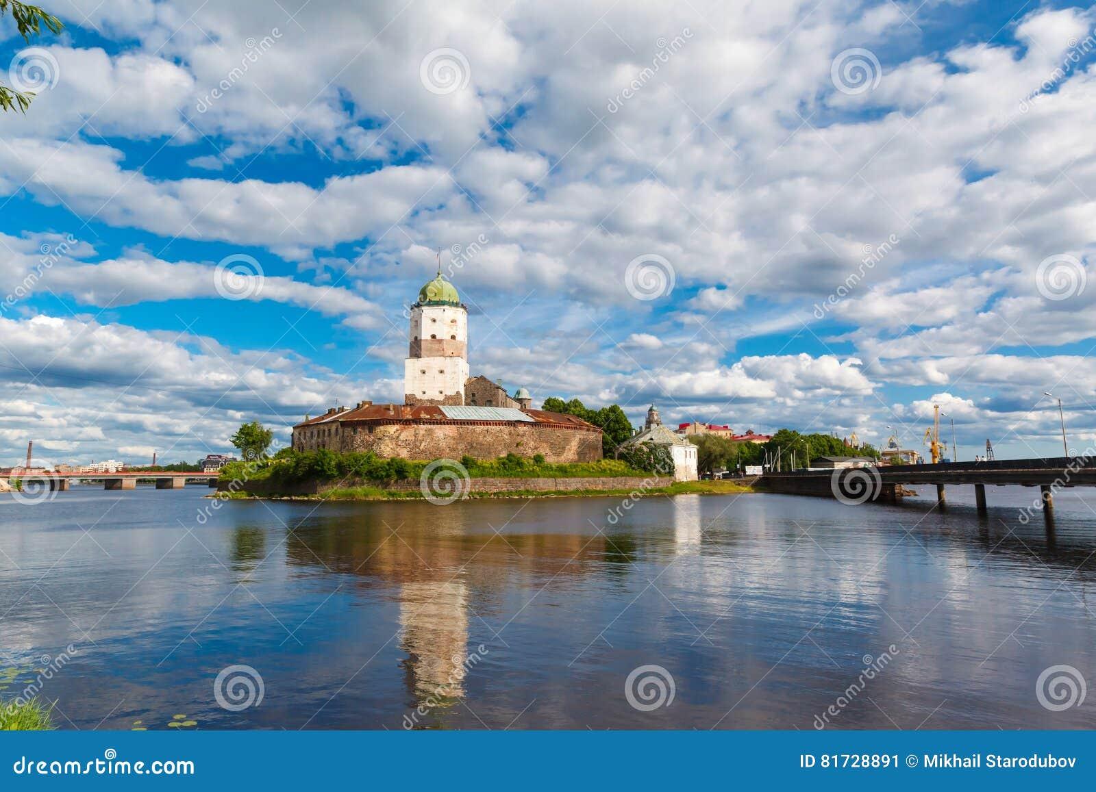 St Olov kasztel, starzy średniowieczni szwedzi w Vyborg