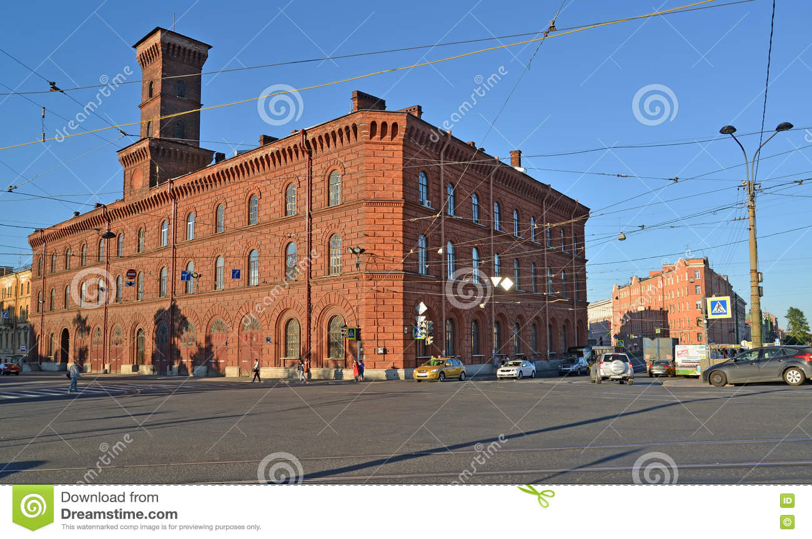 St Pétersbourg, Russie Ministère d université de St Petersburg des affaires intérieures de la Fédération de Russie