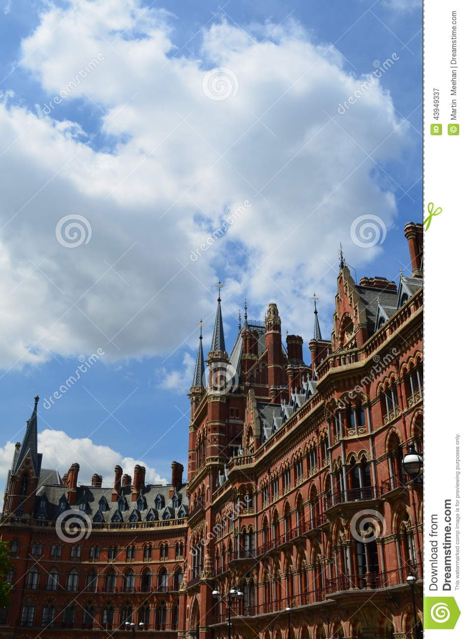 St Pancras railway station,also know as London St Pancras and since ...