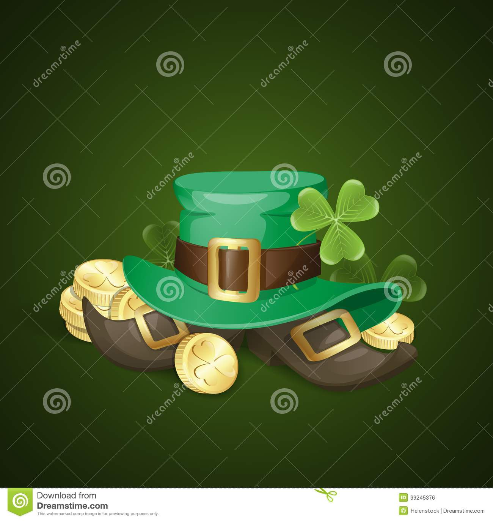 St. Patrick Dagachtergrond
