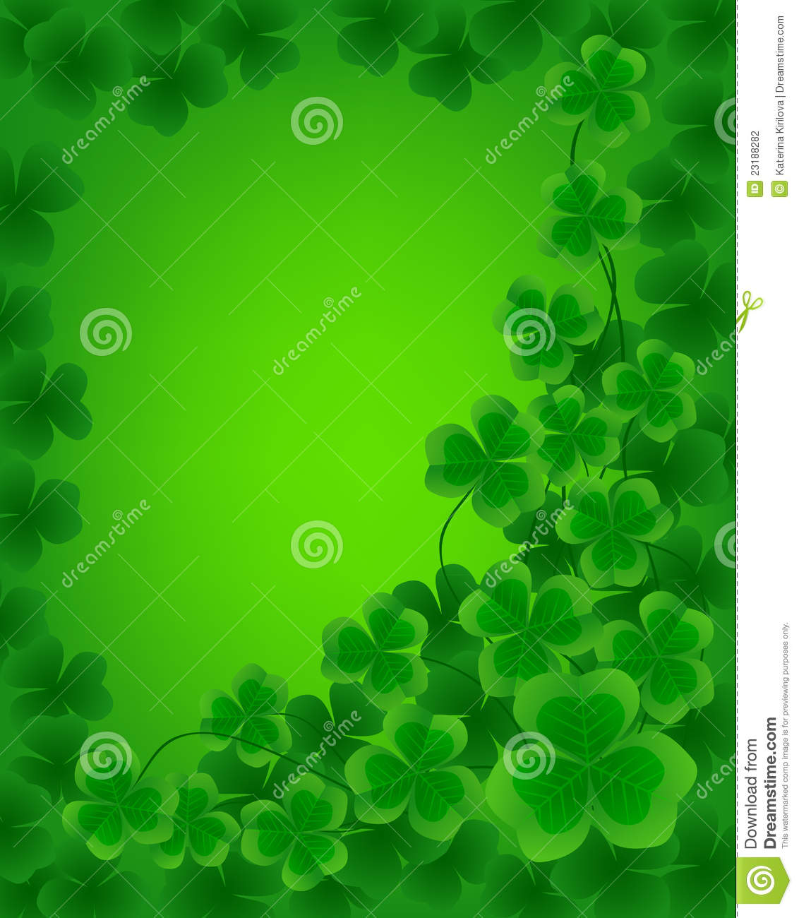 St. Patrick Day Background Stock Photography - Image: 23188282