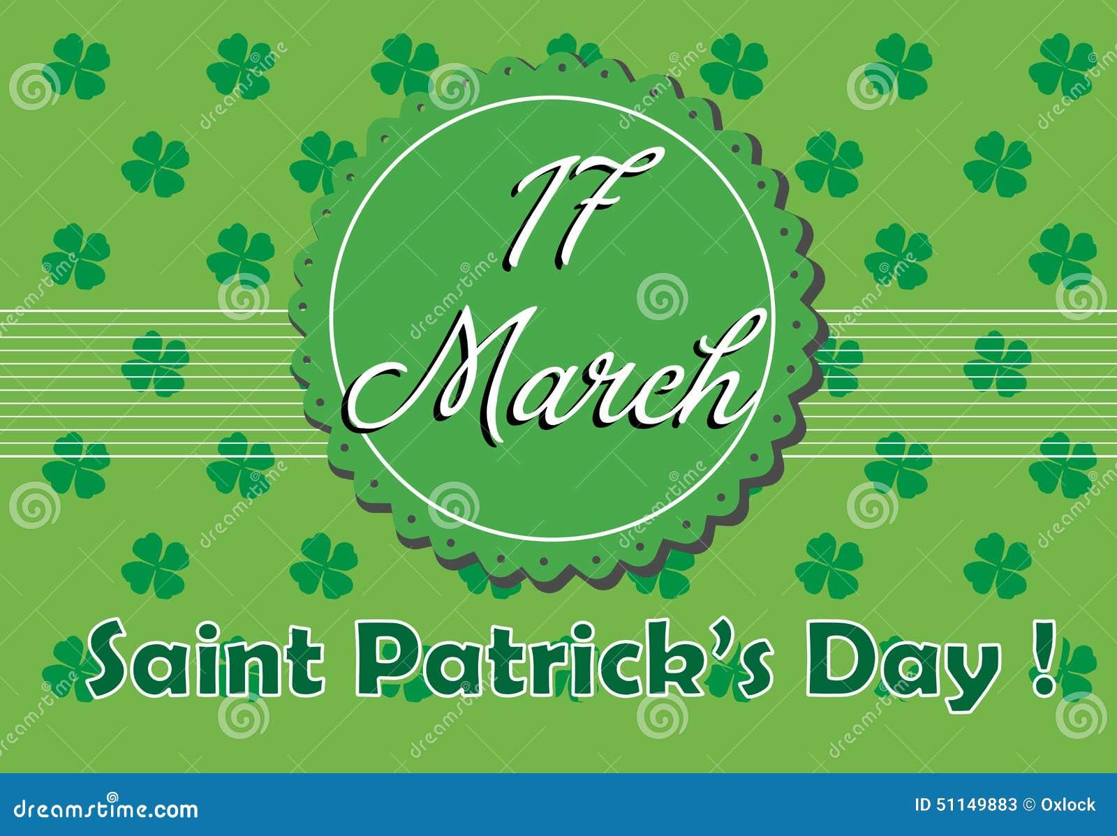 St Patrick hälsning
