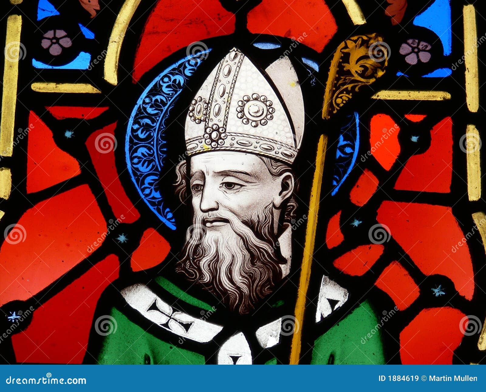 St. Patrick, imagem do vidro manchado