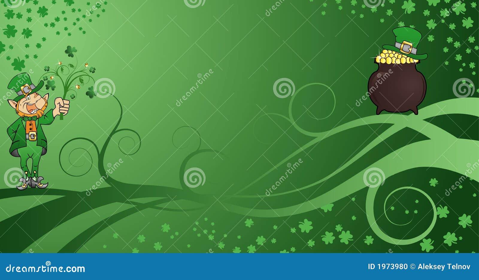St. Patrick's Background Stock Vector. Illustration Of