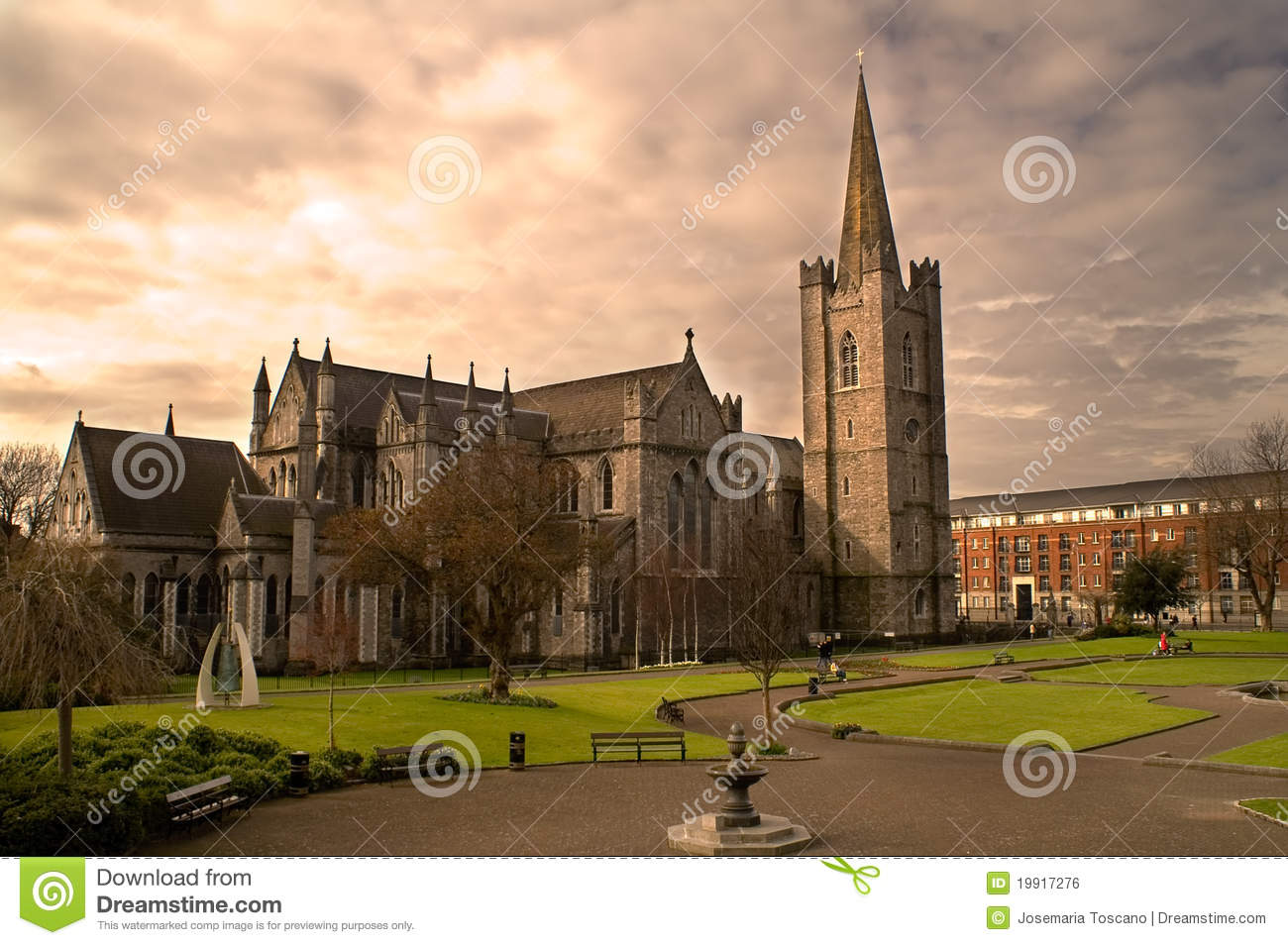 St. Patrick s Cathedral in Dublin, Ireland.