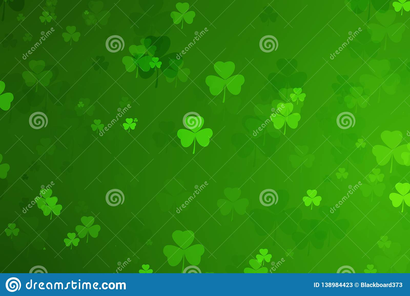 st. patrick`s day abstract green background for design