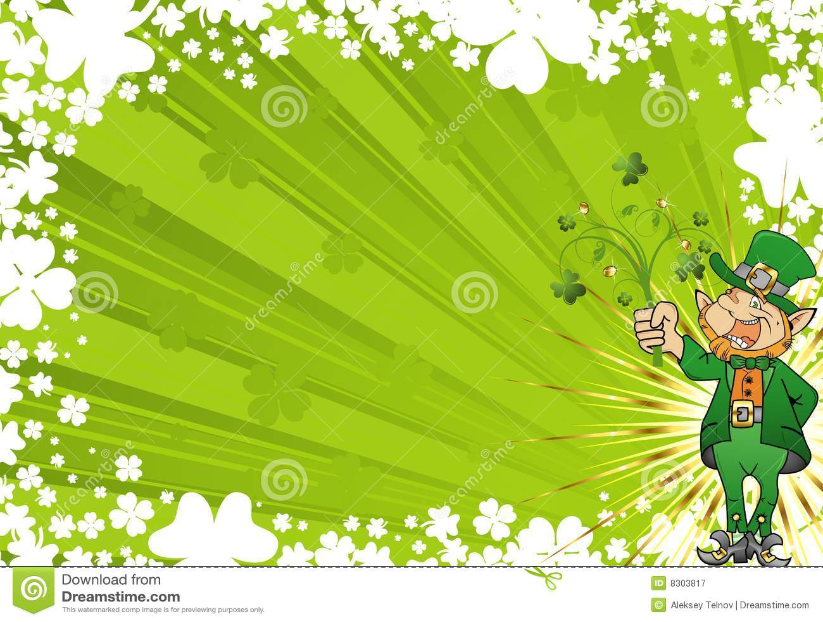 St Patricks Day Free Vector Art 3953 S