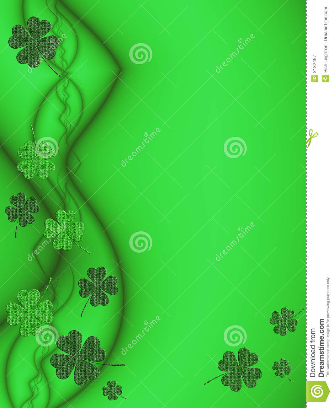abstract st patrick theme - photo #18