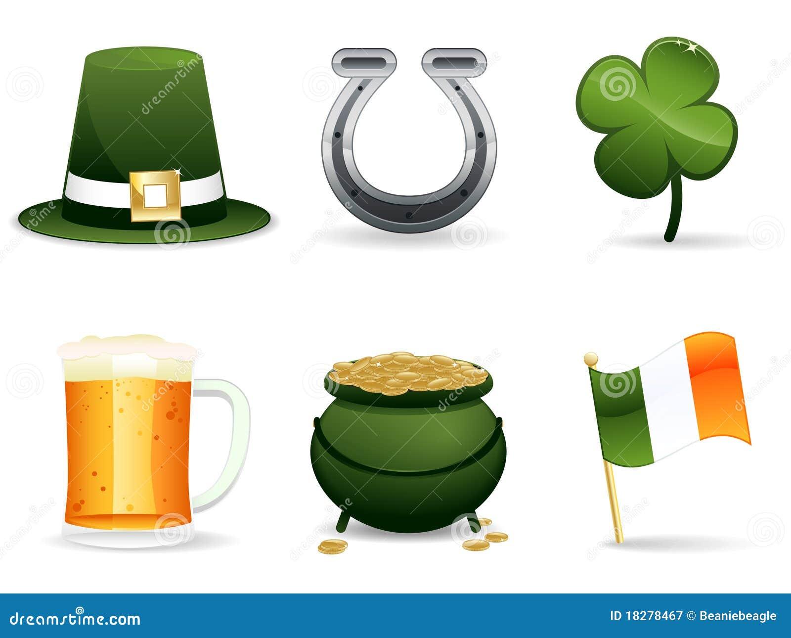 St. Patrick s Day Irish Icons