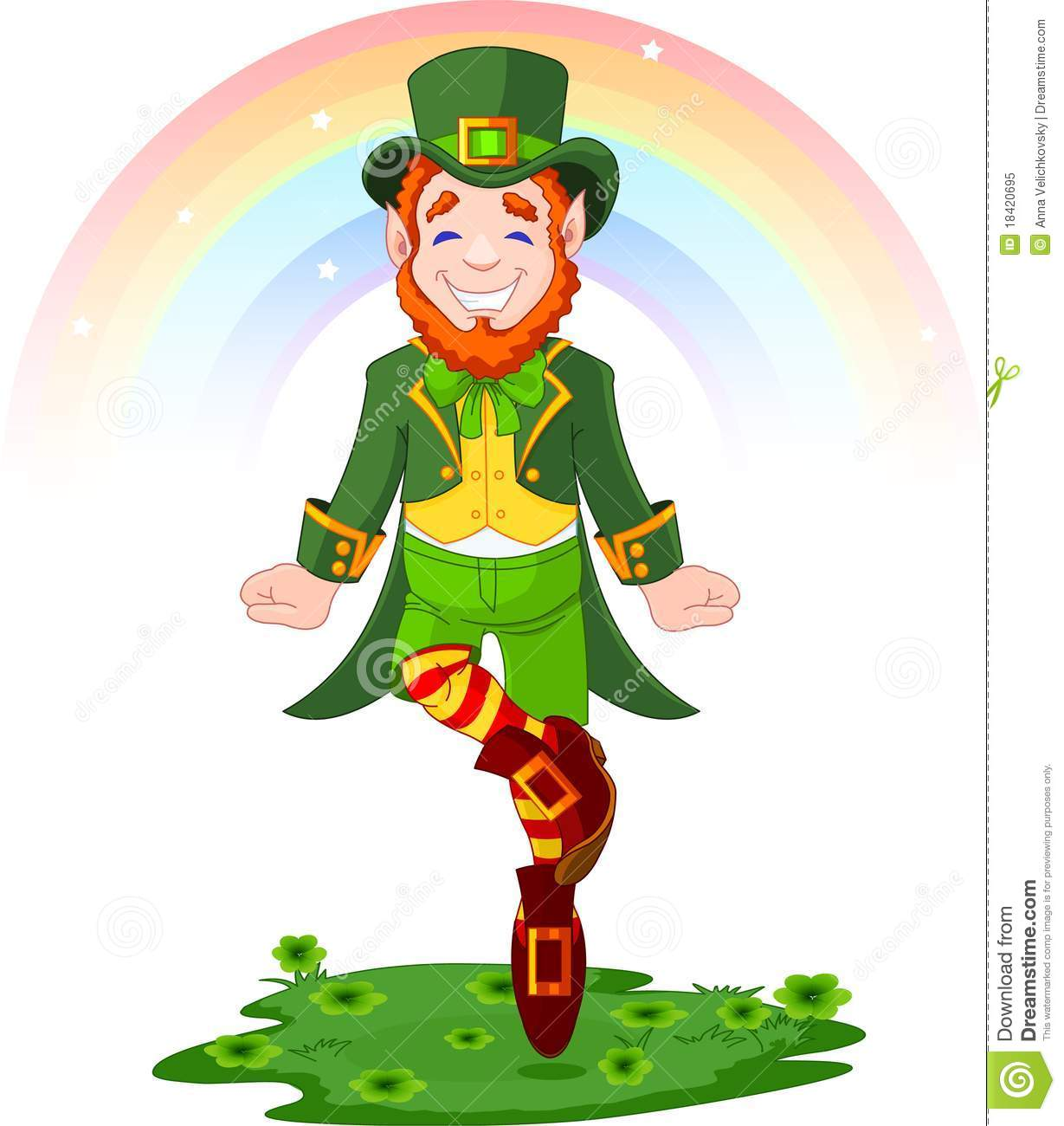 Uncategorized Dancing Leprechauns st patricks day lucky dancing leprechaun royalty free stock photo