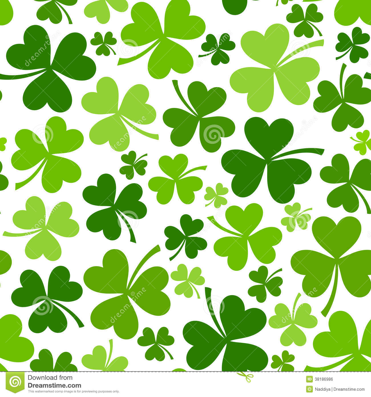 patricks day shamrock background - photo #13