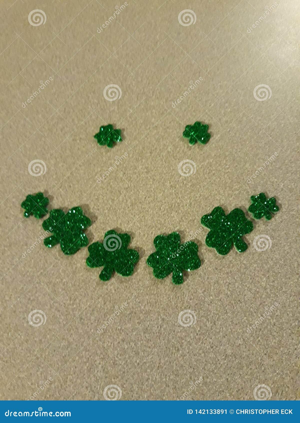 St Patrick& x27; s Smiley