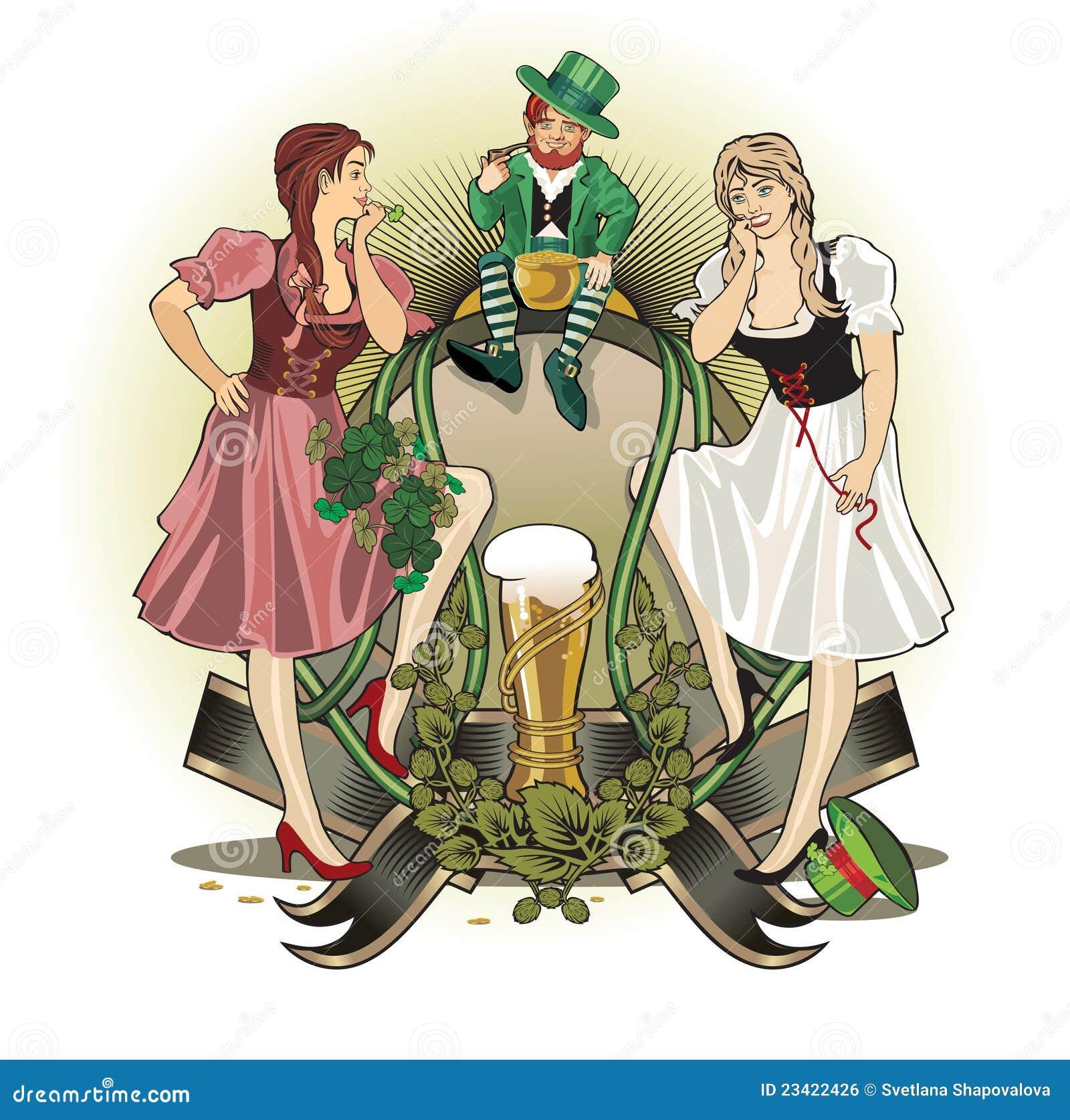 St.Patrick Tag