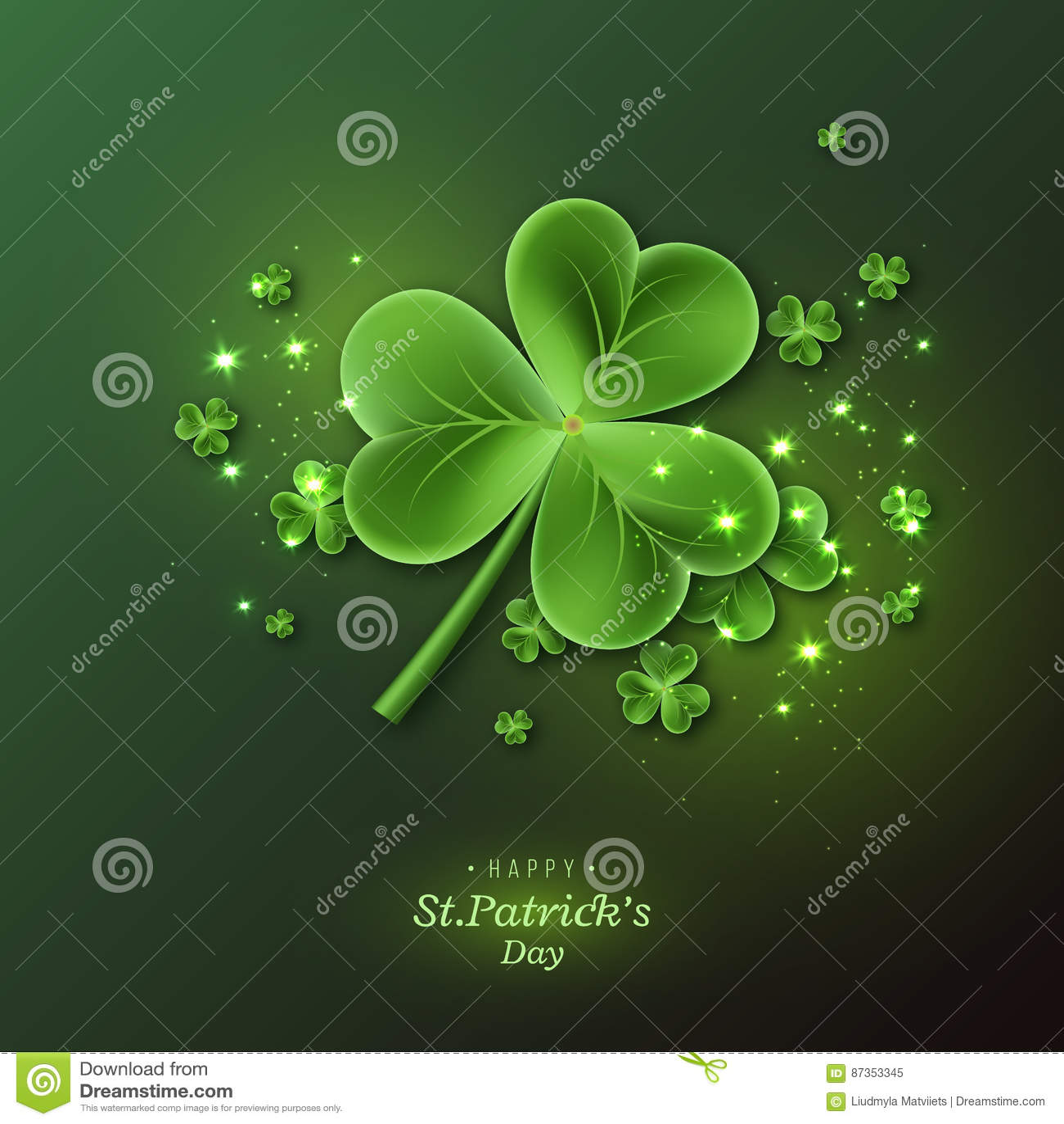 St Patrick y x27; fondo del día de s