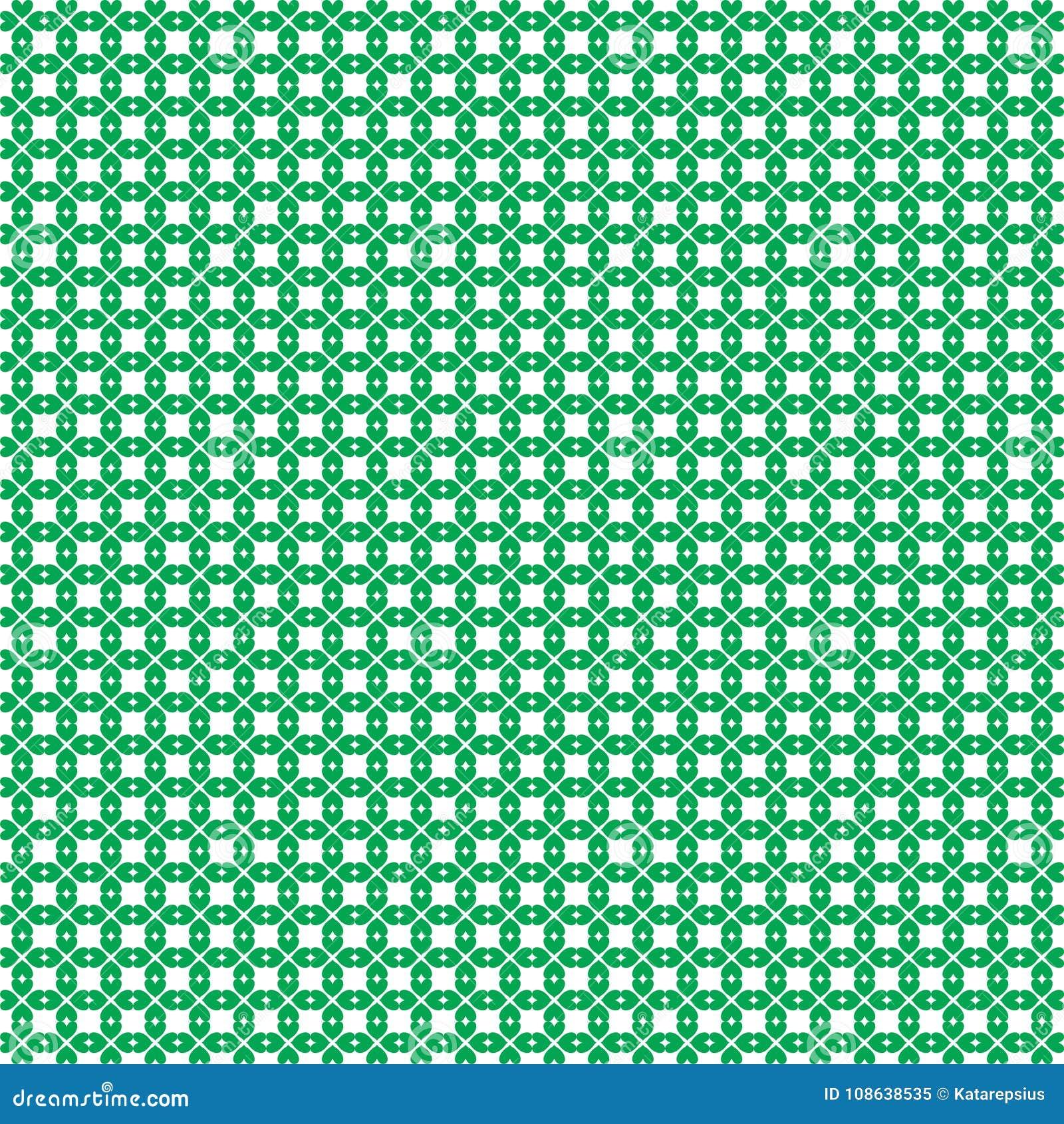 St Patricks Day Seamless Wallpaper With Shamrocks Print On ...