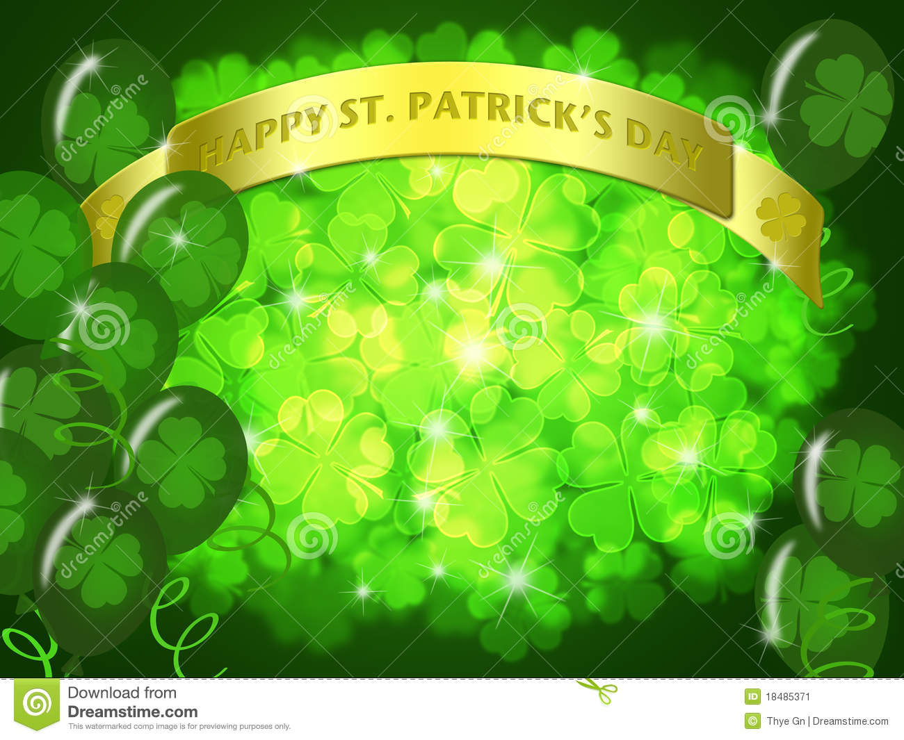 st patricks day two green beers banner shamrock stock