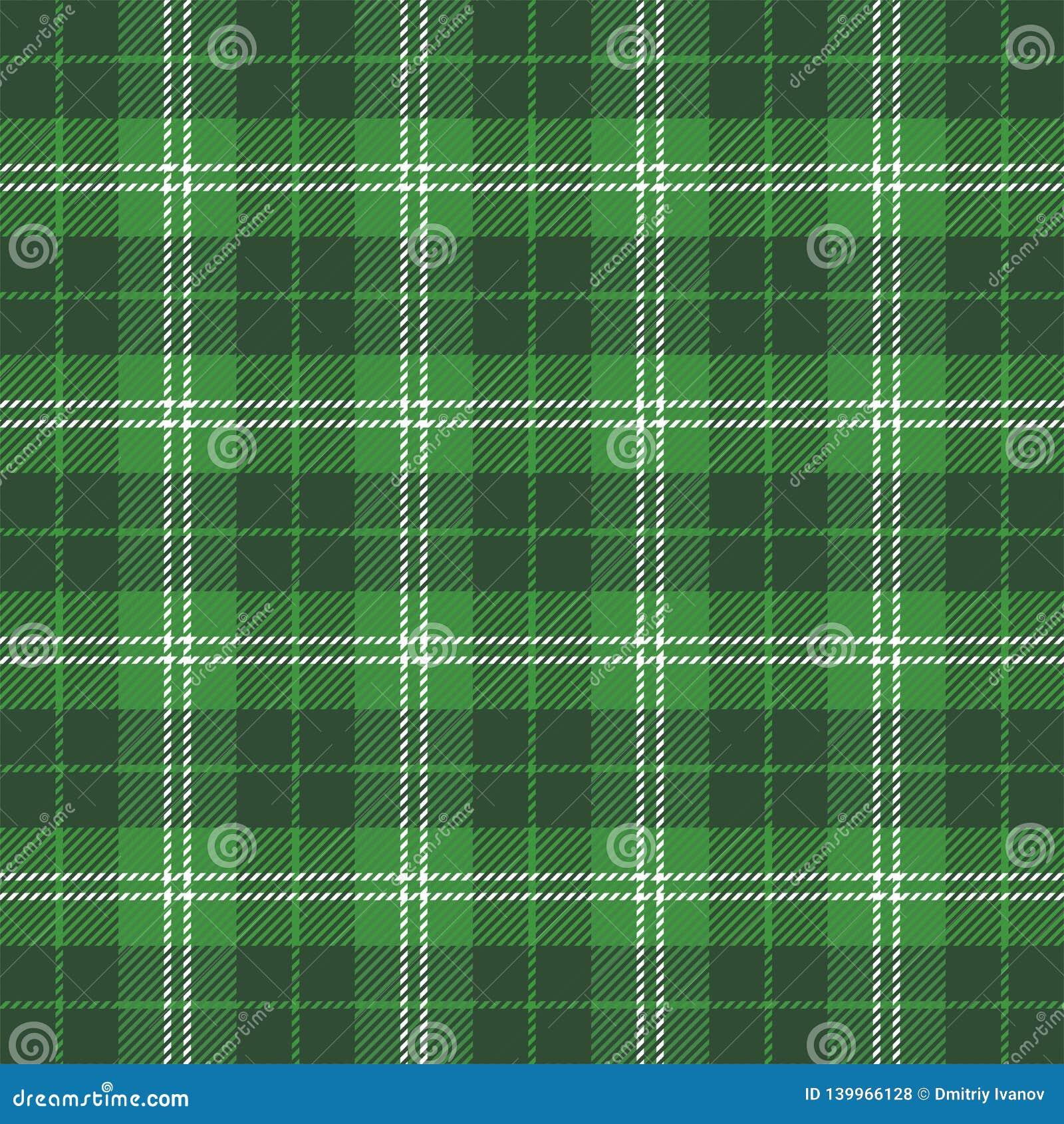 St Patricks de plaid van het daggeruite schots wollen stof Schotse kooi