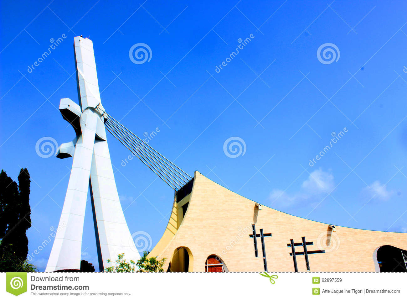 St paul of abidjan cathedral saint place editorial stock image editorial stock photo buycottarizona Gallery