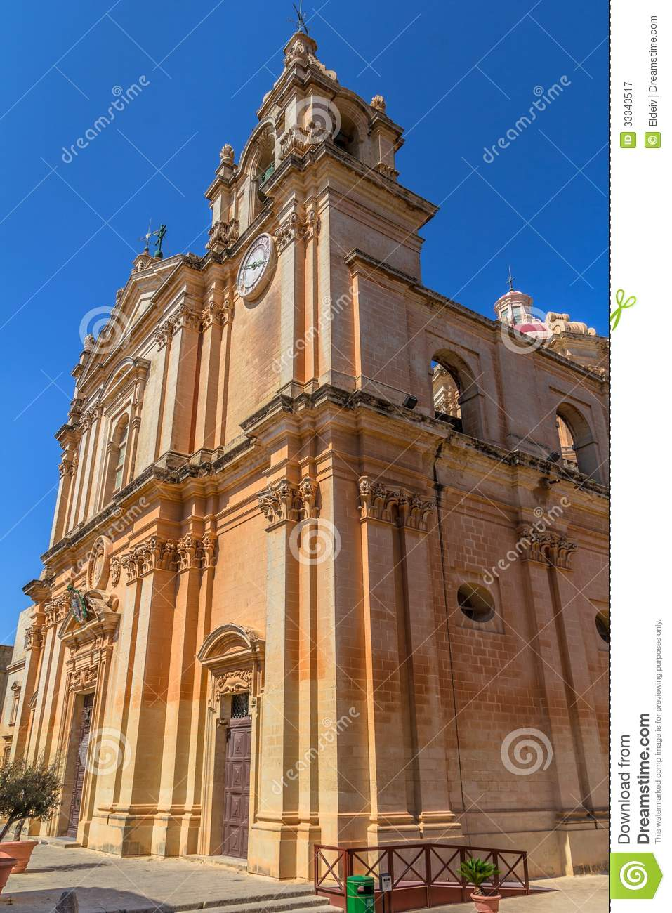 St Paul Cathedral Facade Royalty Free Stock Photography ...