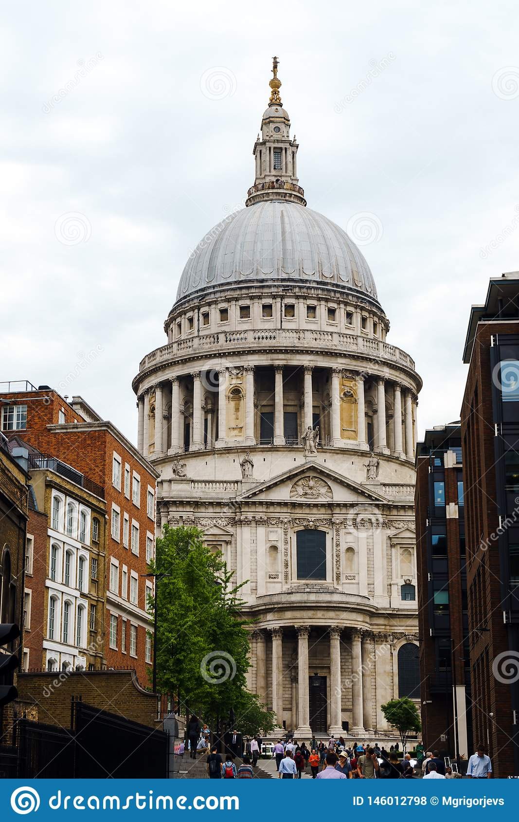 St Paul Kathedraal in Londen, het Verenigd Koninkrijk, 24 Mei, 2018