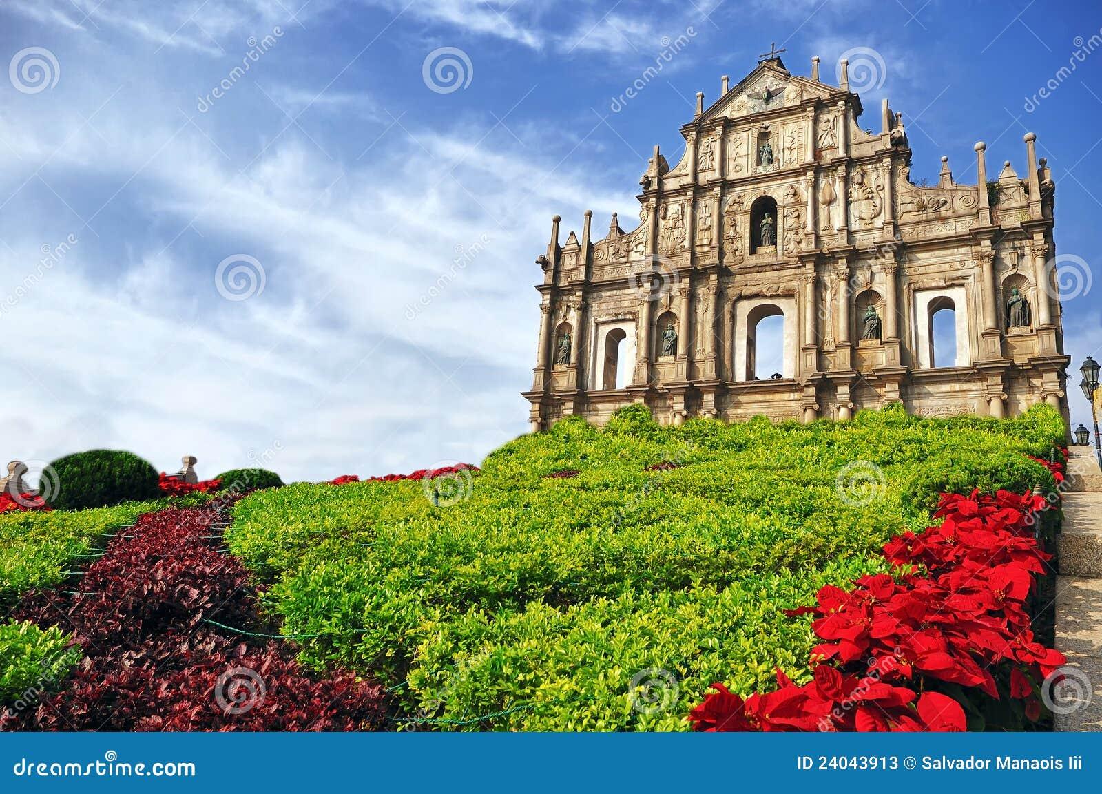 St. Paul Ruïnes in Macao