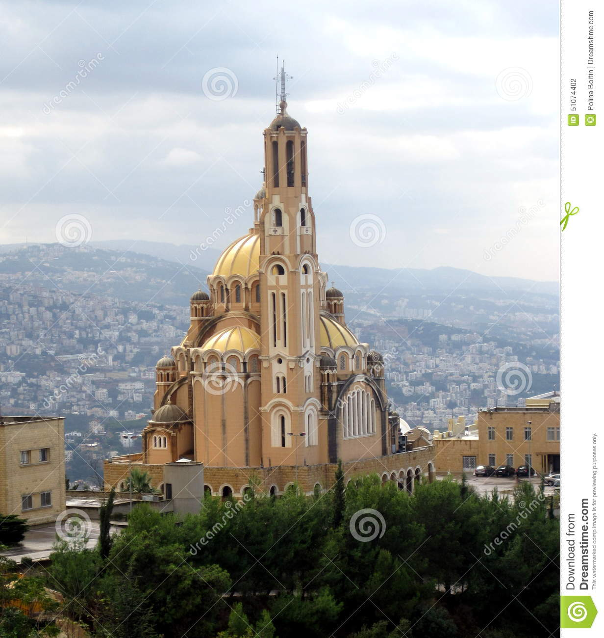 Cathedral Lebanon Editorial Photography Image Of Events