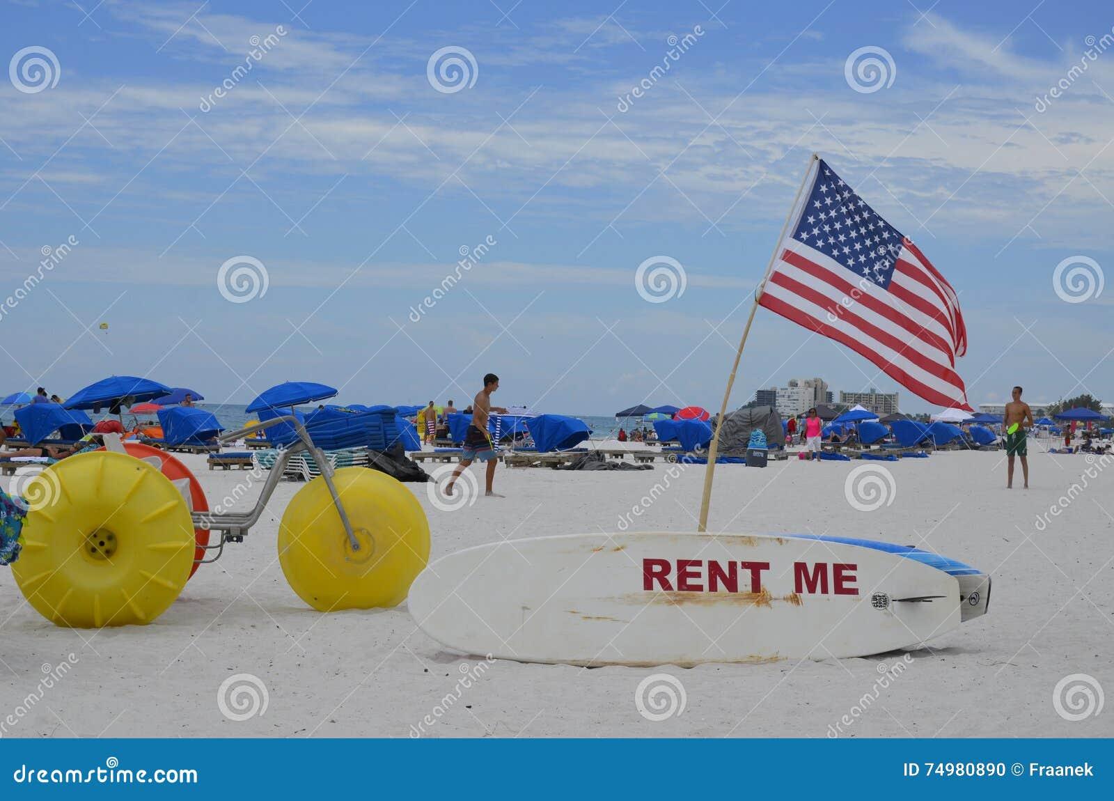 St Pete plaża w St Petersburg, Floryda