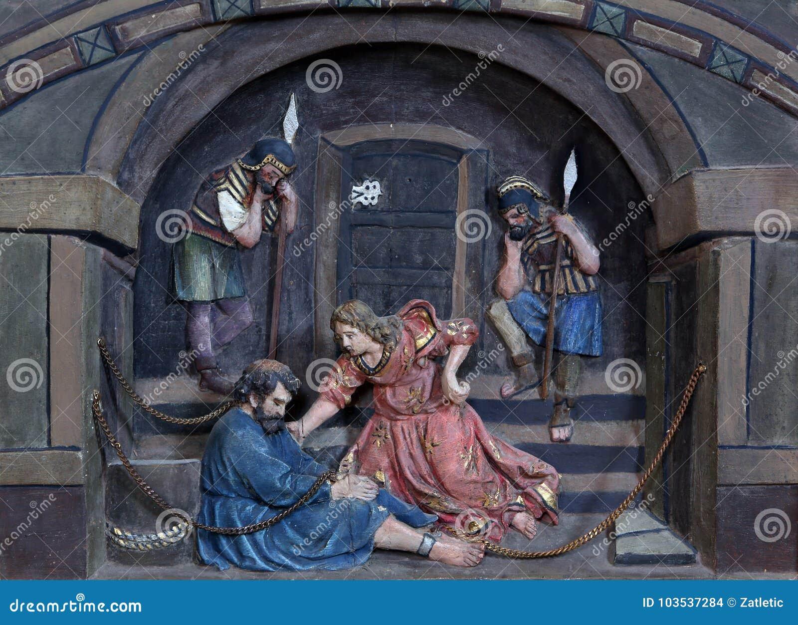 St Peter in kettingen