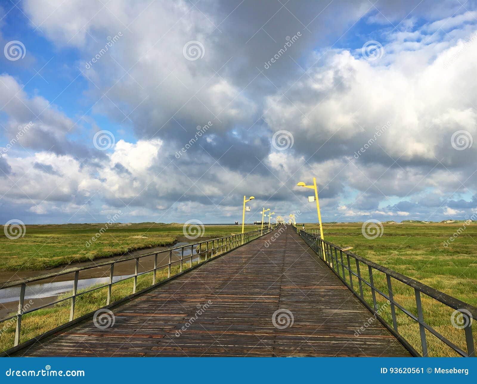 St Peter-Ording de Mer-pont