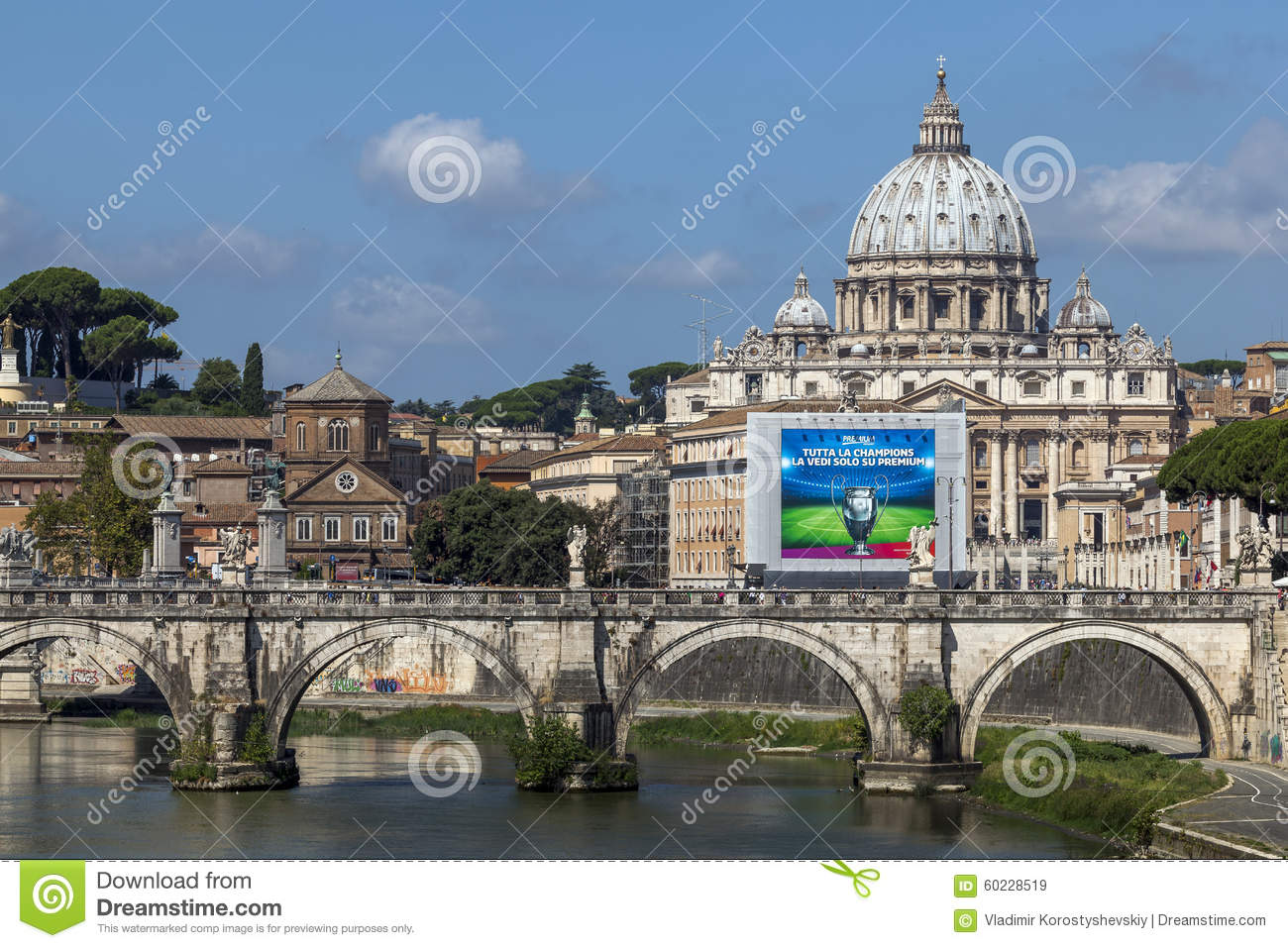 St. Peter S Basilica In The Vatican City Editorial Stock