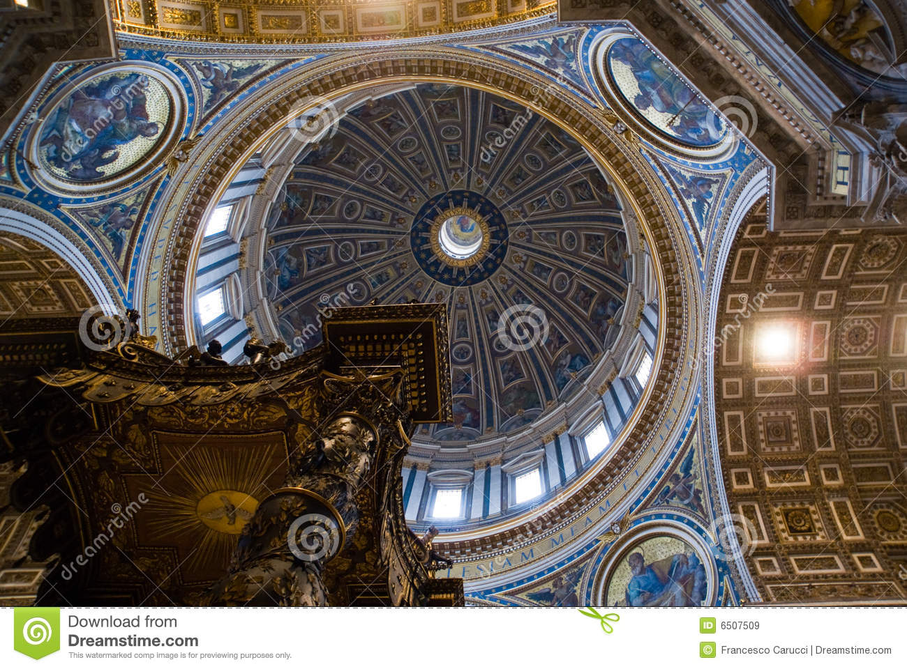 St Peter S Church Rome Italy Editorial Stock Image
