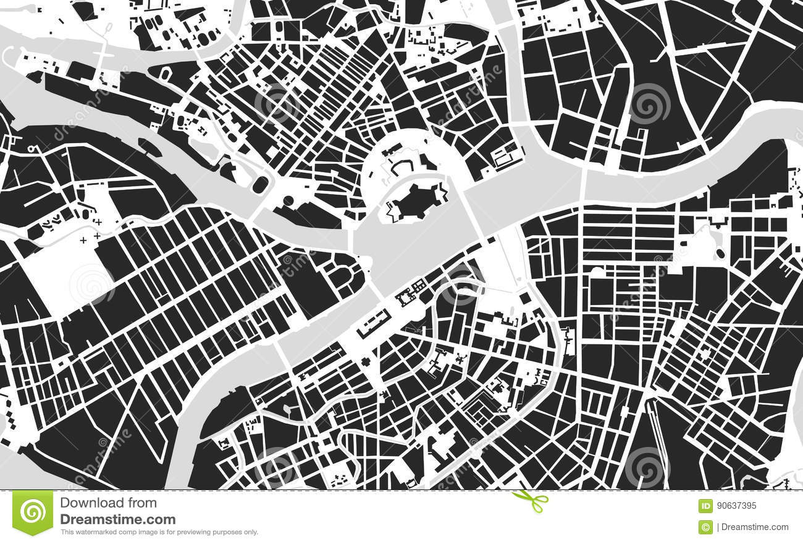 St Petersbourg de carte