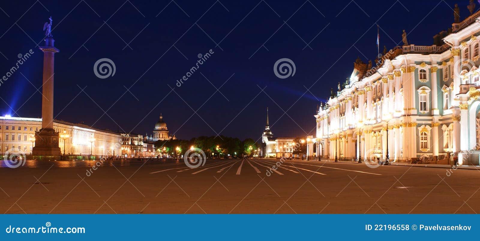 St petersburg России панорамы дворца квадратный